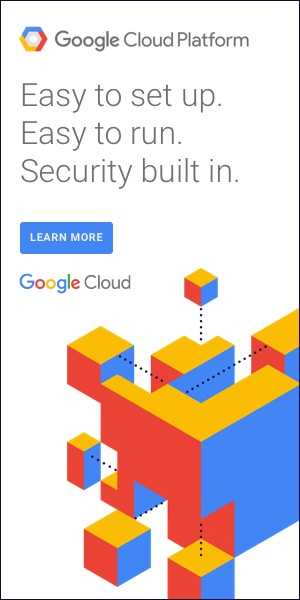Google Cloud Platform Advertisement